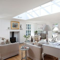 North facing extension uk 1930 house google search for North facing living room ideas
