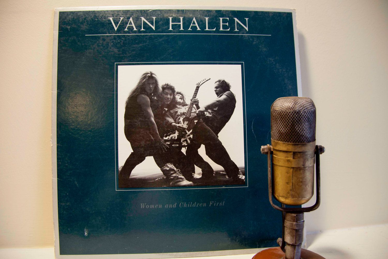 Van Halen Women And Children First Vinyl Record Album 1980s Rock And Roll Original 1980 Wb Records No Poster Van Halen Vinyl Poster Classic Album Covers