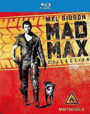 MAD MAX TRILOGY Blu-Ray The Road Warrior Beyond Thunderdome 1 2 3 box set - BUY NOW ONLY 33.94