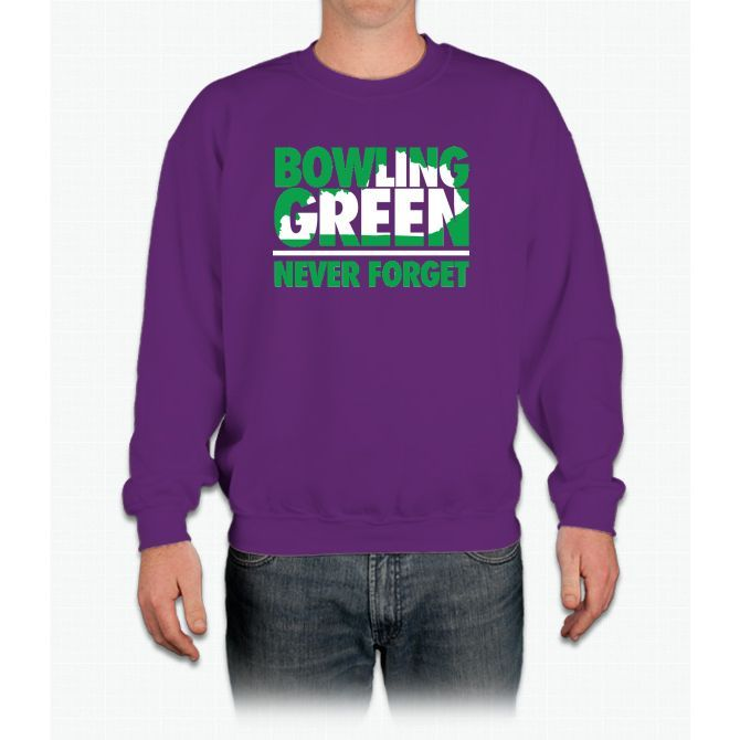 Bowling Green Massacre (Green/White) Crewneck Sweatshirt