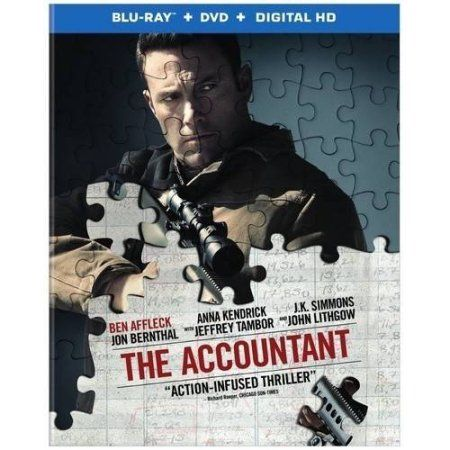 The Accountant Blu Ray Dvd The Accountant Movie Streaming Movies Ben Affleck
