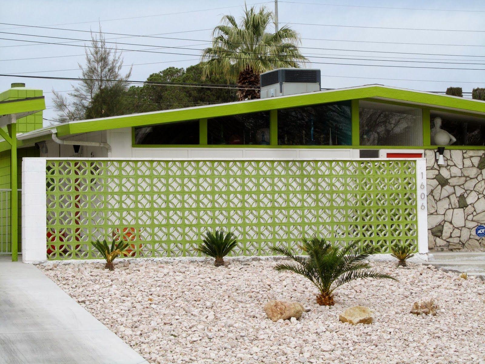 Paradise Palms: 02/23/14 | mid century | Pinterest | Palm, Block ...