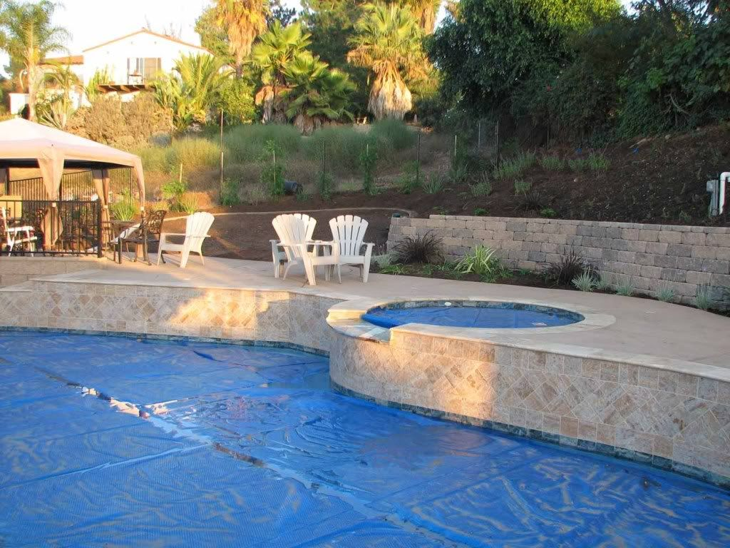 Pools Built On A Slope Project Final Pics