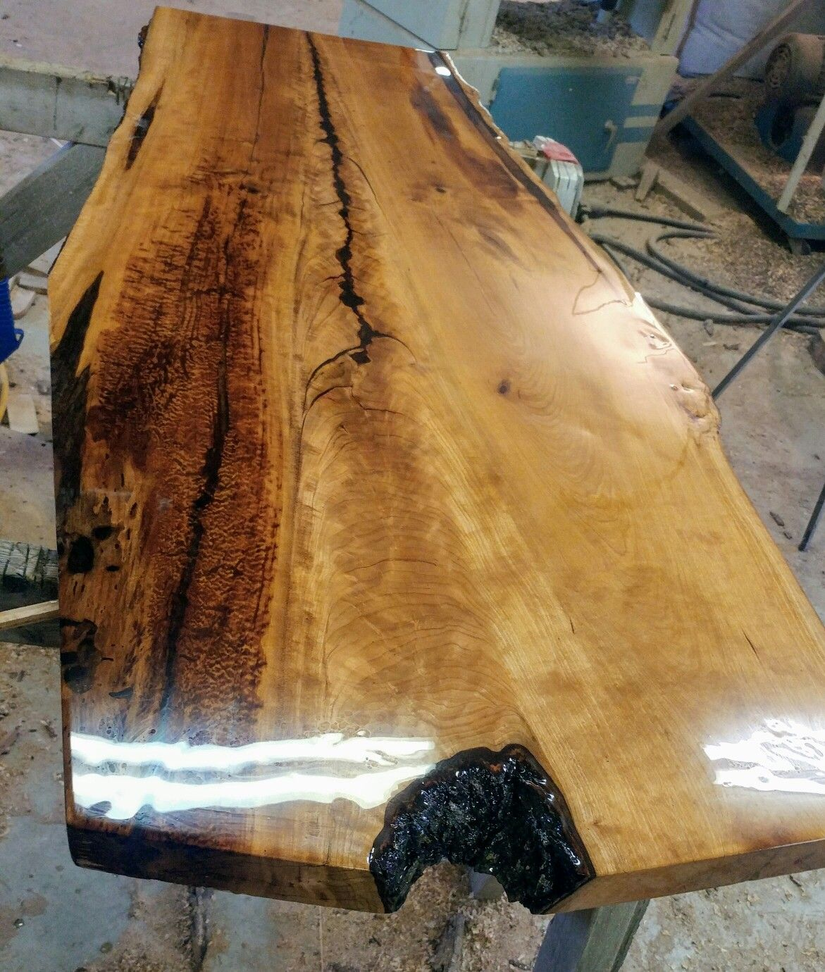 How To Finish Live Edge Wood