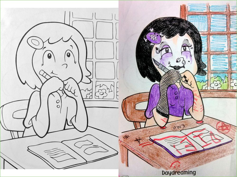 corrupted coloring books disney google search - Dirty Coloring Books