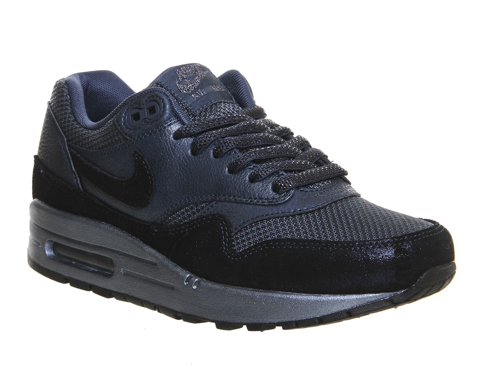 Buy Burnt Metal Blue Nike Air Max 1 (l) from OFFICE.co.uk