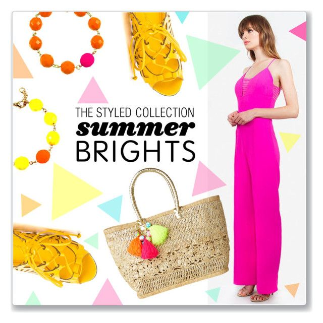 """Summer Brights with The Styled Collection"" by kellylynne68 ❤ liked on Polyvore featuring Privileged, Lilly Pulitzer, summerbrights and thestyledcollection"