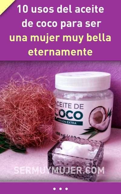 Aceite de coco y las varices