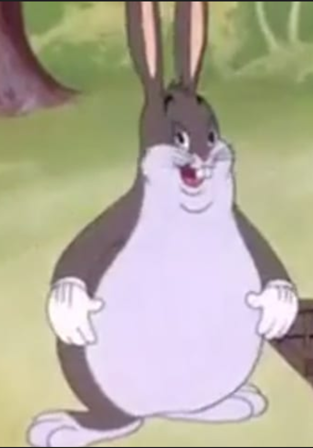 Original Big Chungus Big Chungus Meme Big The Originals Pets