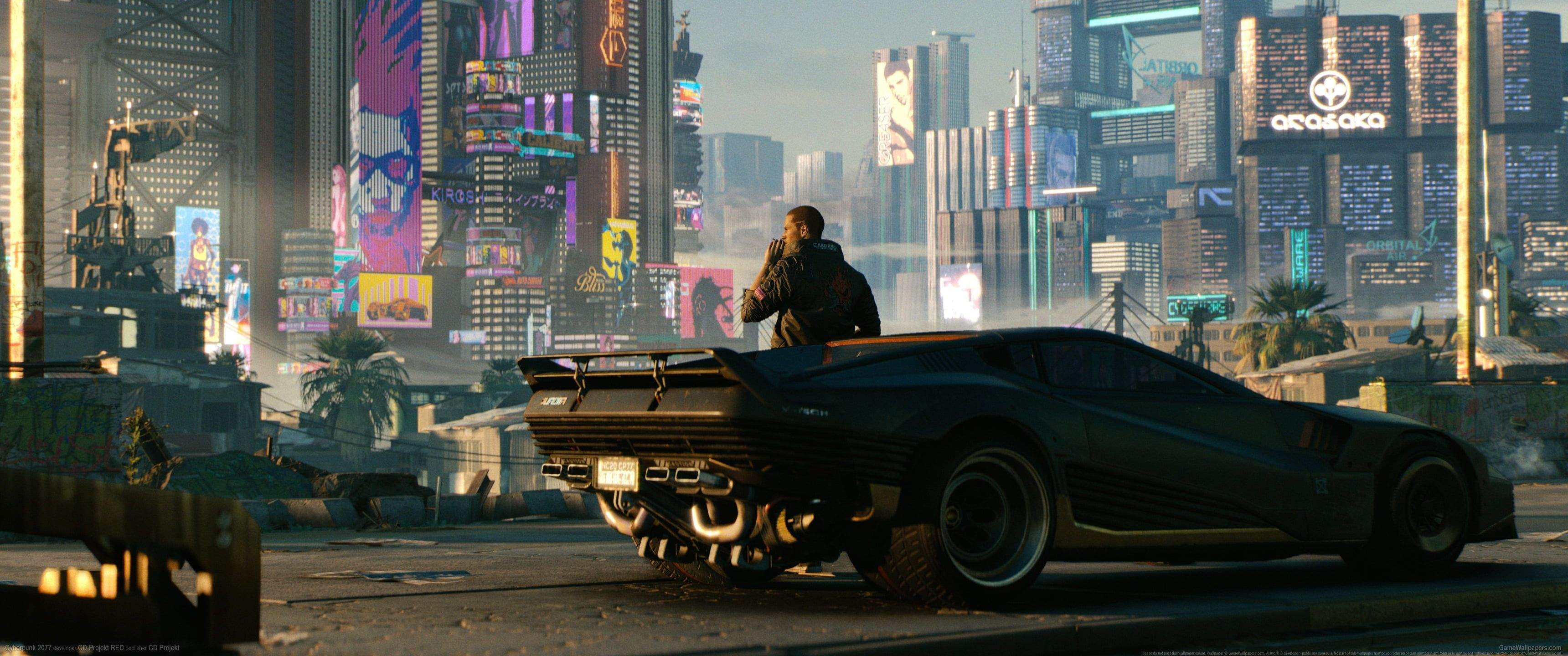 Black Sports Car Video Games Cyberpunk Cyberpunk 2077 Ultrawide Ultra Wide 2k Wallpaper Hdwallpaper Desk Cyberpunk 2077 Trailer Cyberpunk 2077 Cyberpunk