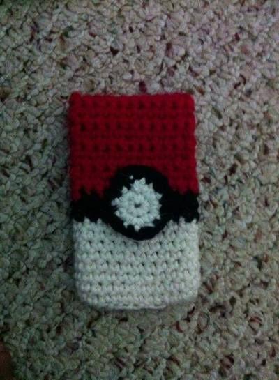 Pokemon inspired phone cozy
