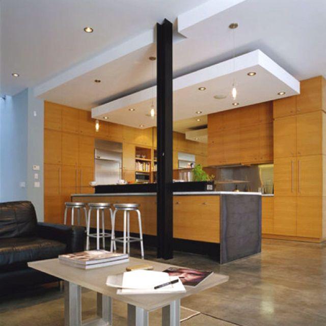 Drop Ceiling Interior Desing Cielo Falso Cocinas Y