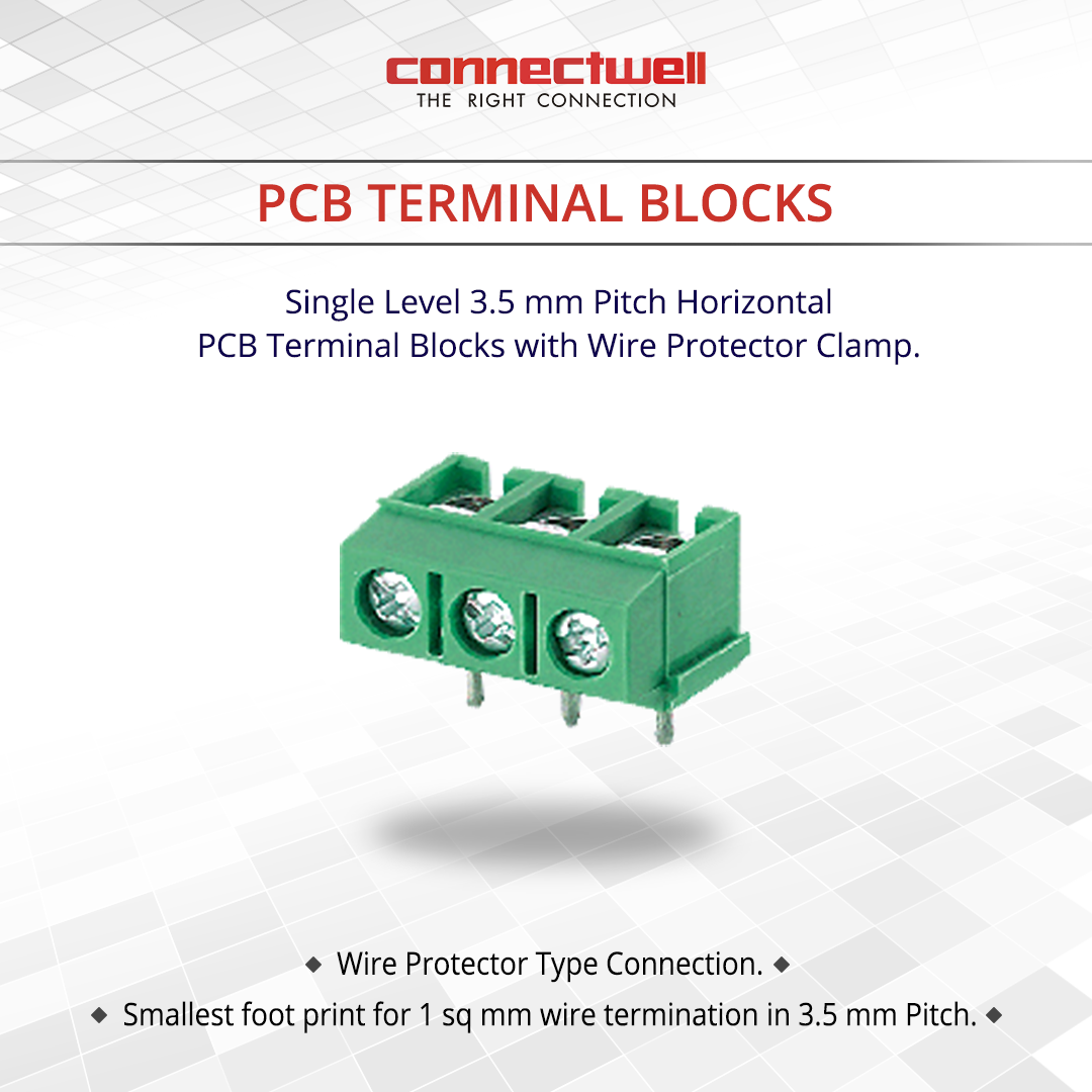Product Name: PCB Terminal Blocks Connectwell is the leading ...