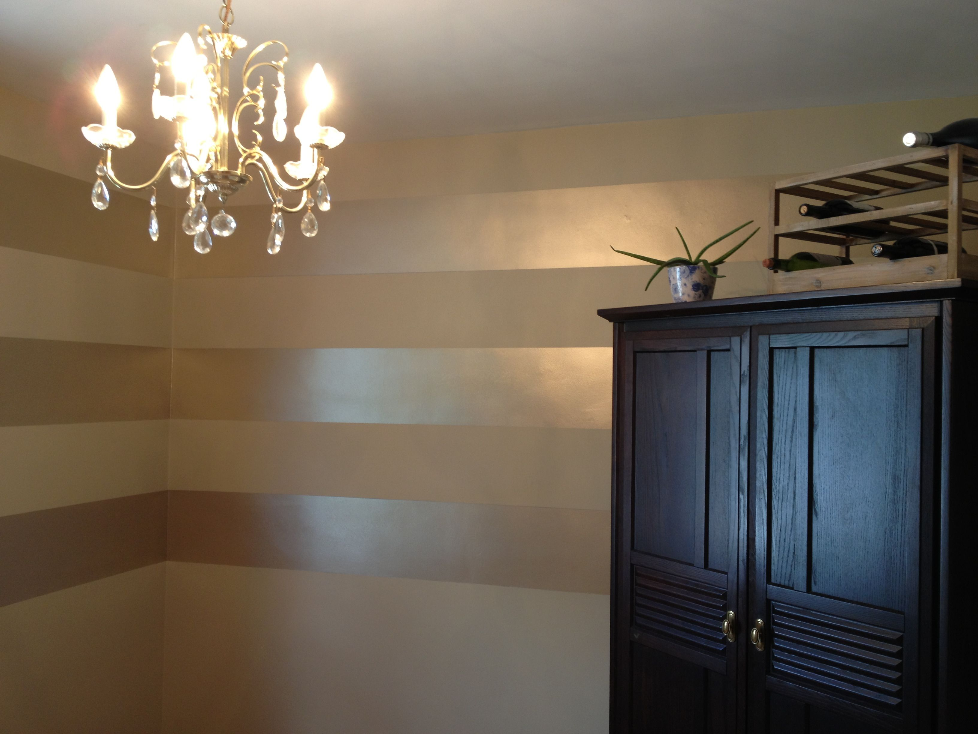 metallic striped wall for bathroom silver striped and gold