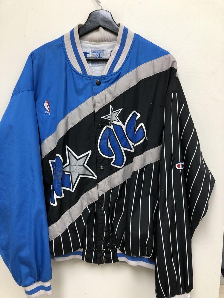 57d9e03ef5d Vintage Champion NBA Orlando Magic Warm-up Jacket XL RARE Free Shipping