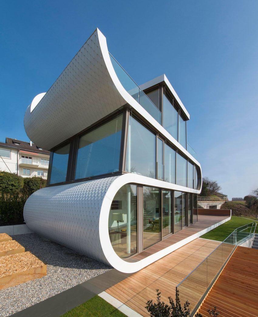 Modern Architecture Zurich evolution design creates a unique modern home in zurich | homes