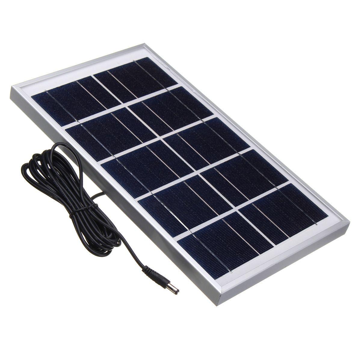 5v 7w Durdable Impermeable Polycrystalline Solar Cargador De Panel Con Cable 3m Para Luz De Emergencia Camping Compenentes Diy Kits From Electr A On Banggood Solar Panel Charger Solar Panels