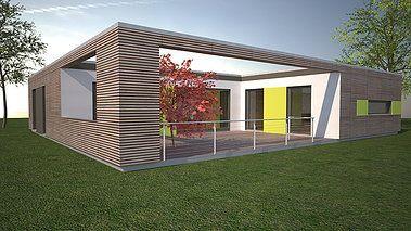 Bungalow bauen - Wohnen auf einer Ebene   Bungalow bauen, Haus ideen ...