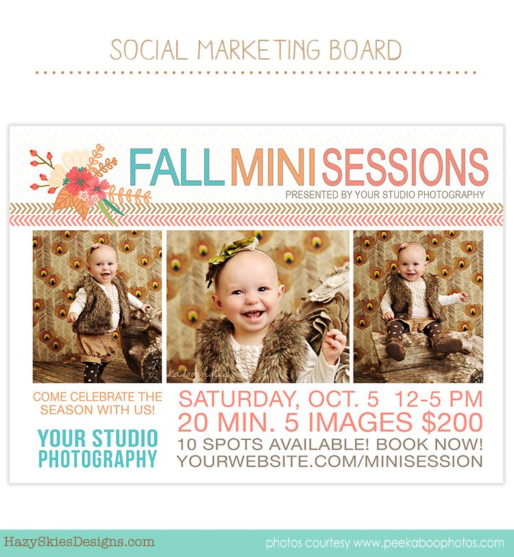 Mini Session | Branding & Packaging for Photographers | Pinterest ...