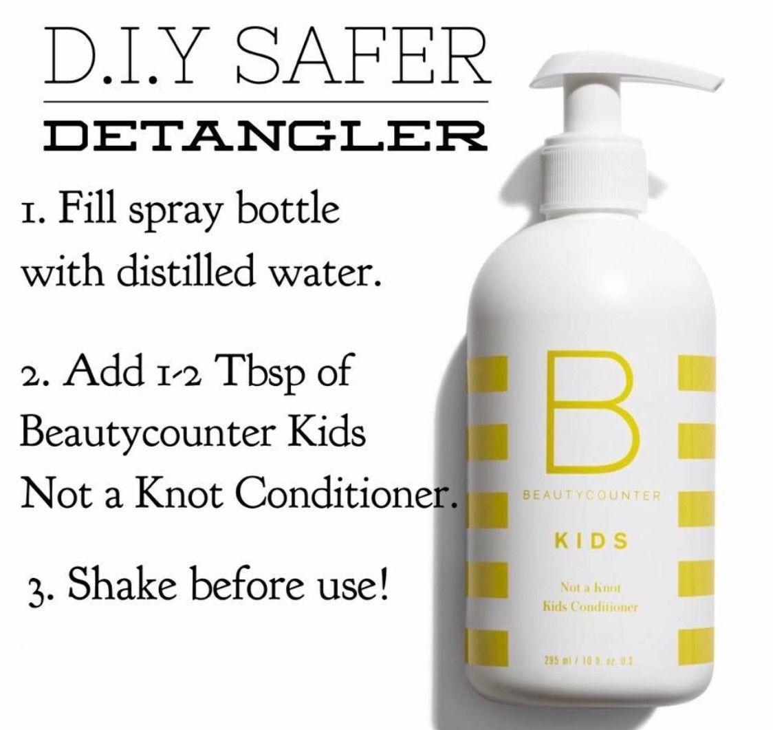 Easy Way To Create A Safer Detangler For Your Kiddos
