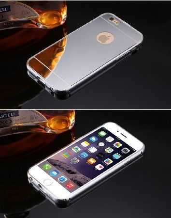 coque iphone 6 miroir argent
