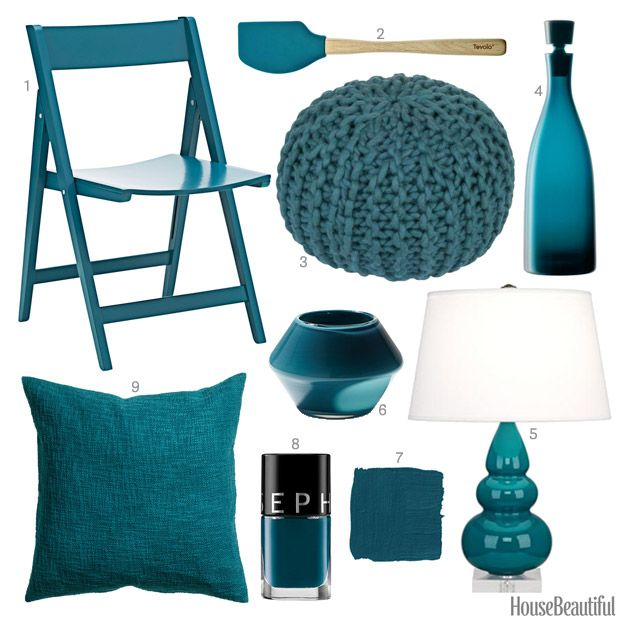 Color Of The Week: Peacock Blue