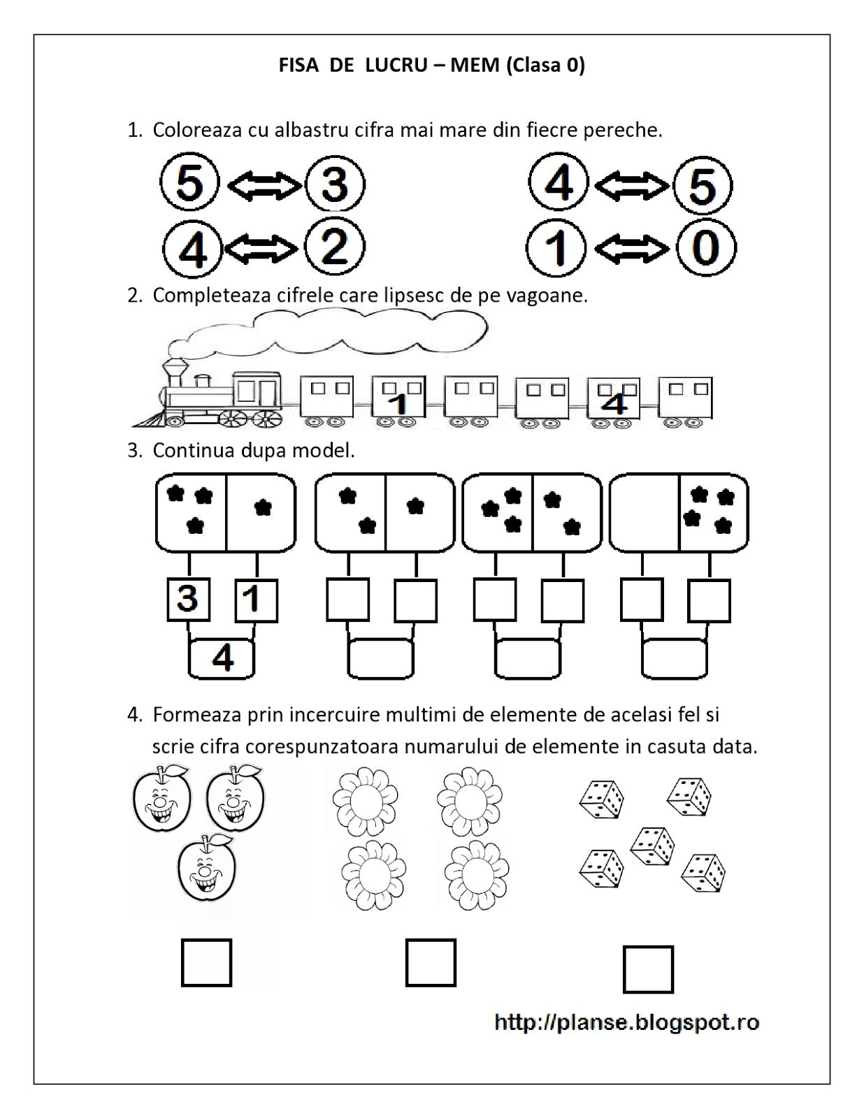 fise de lucru mem matematica clasa pregatitoare multimi comparari numere pare impare. Black Bedroom Furniture Sets. Home Design Ideas