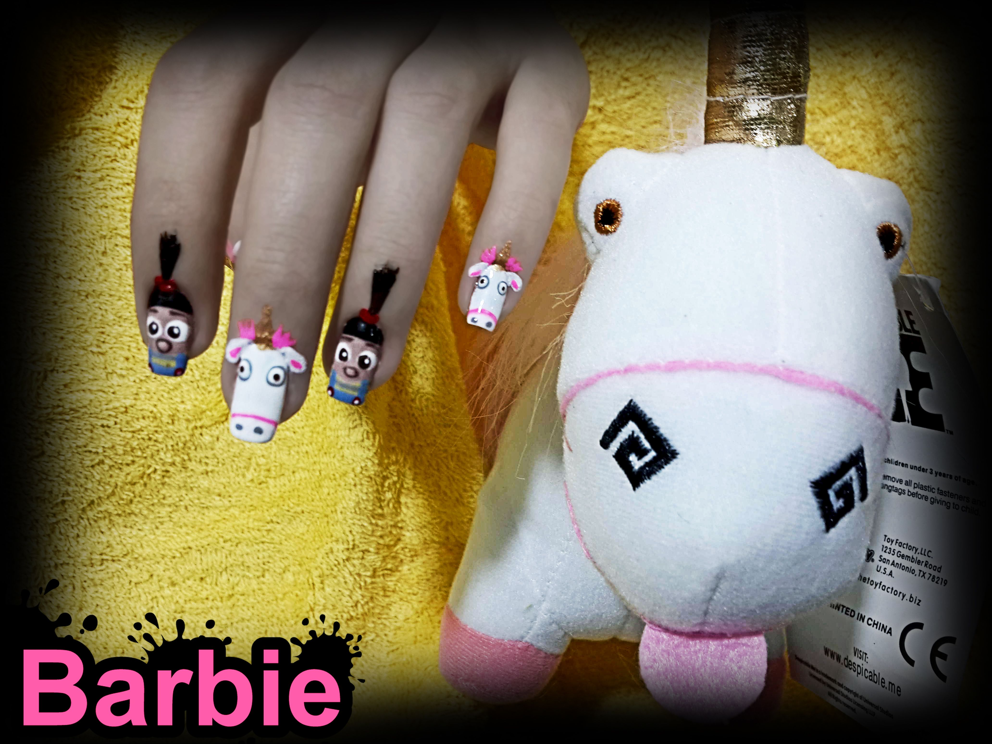 Agnes Unicorn Nails - agnes and her unicorn from the Wonderful movie ...
