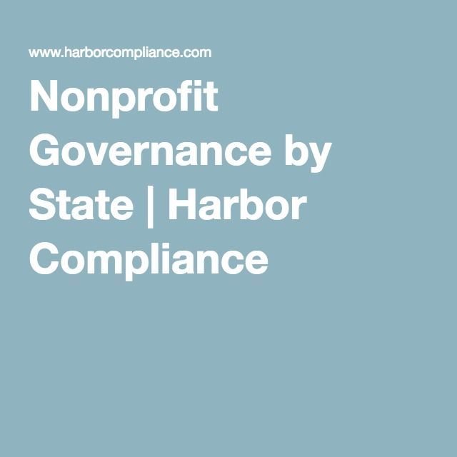 Nonprofit Governance by State | Harbor Compliance