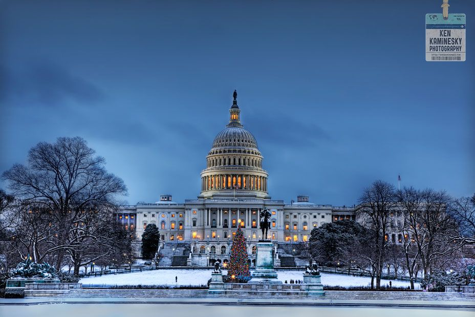 Washington Dc Map National Mall%0A The US Capitol building in winter  great shot by my friend Ken Kaminesky