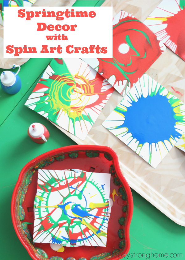 Spin art crafts springtime decor ideas easy spin art becomes craft spin art crafts springtime decor ideas easy spin art becomes craft material for kids decorate the house for spring with these easy ideas bookmarks solutioingenieria Images