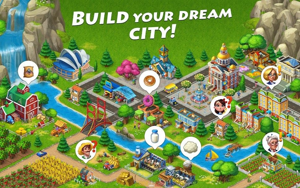 Township Mod Ios Full Unlocked Working Free Download Games Simulation Games Township