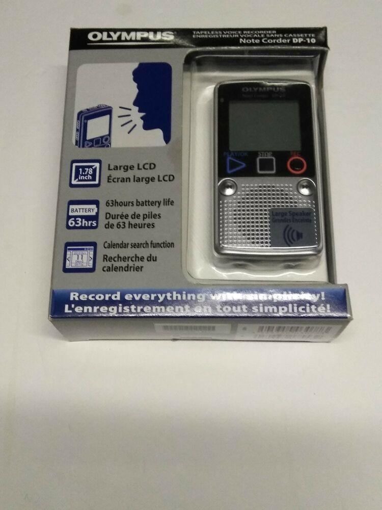 Olympus Dp 10 Digital Voice Recorder Noise Cancellation 131 Hours Record Time Olympus Voice Recorder Olympus Digital