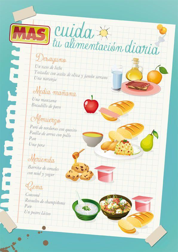 Mens saludables infantiles  Supermercados MAS Blog