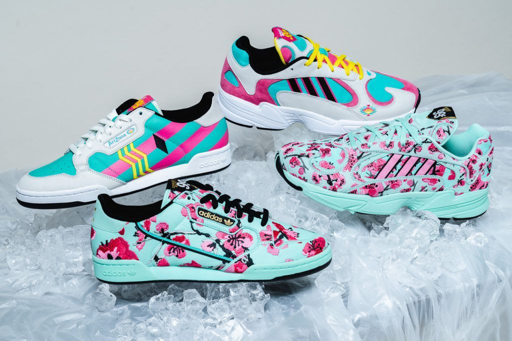 Adidas And AriZona Iced Tea Collab On New 99 Cent Sneakers