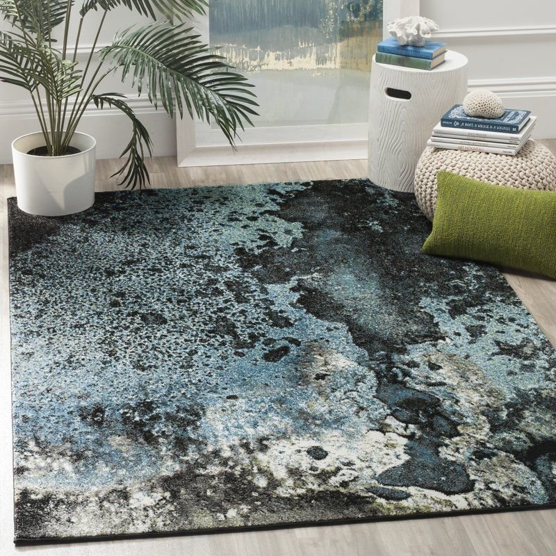 Brodick Blue Gray Area Rug Area Rugs Cool Rugs Rugs