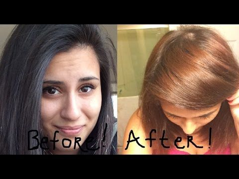 Color Oops On Black Dyed Hair Before And After Success Hair Color For Black Hair Black Hair Dye Box Hair Dye