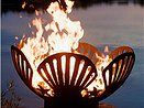 Outdoor Fire Pits and Fire Bowls   Paradise Water Fountains  Purchase from http://www.paradisewaterfountains.com