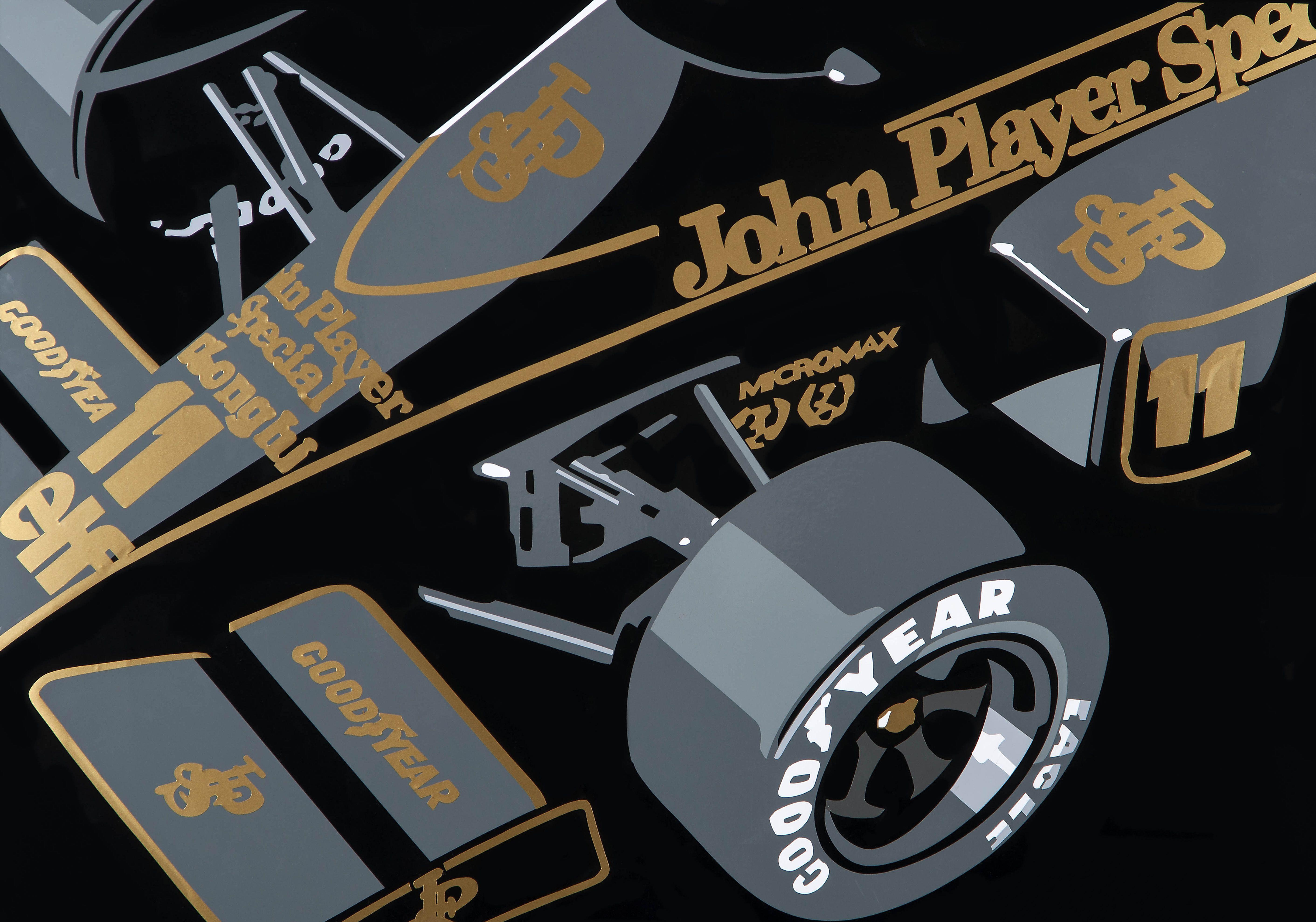 JPS Lotus F1. Hand-cut vinyl art, by www.joelclarkartist.carbonmade ...