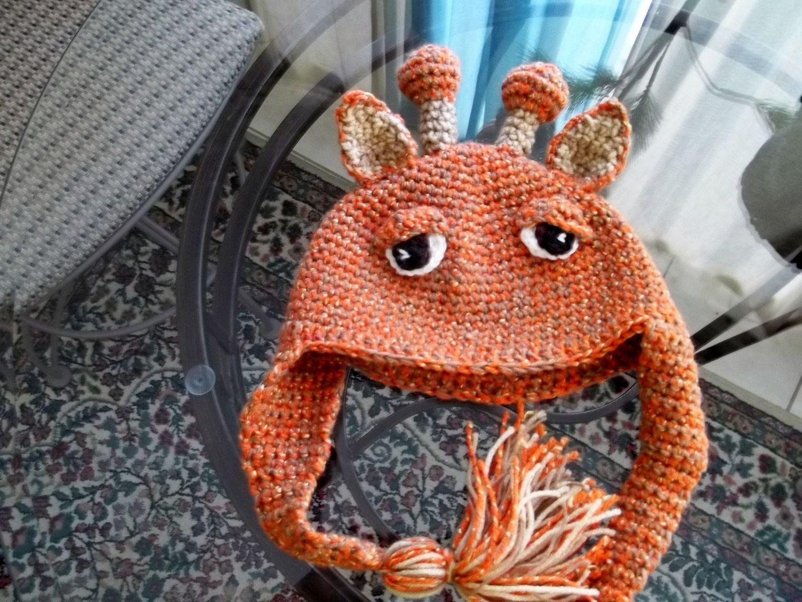 Ravelry: lindadr's Giraffe Hat