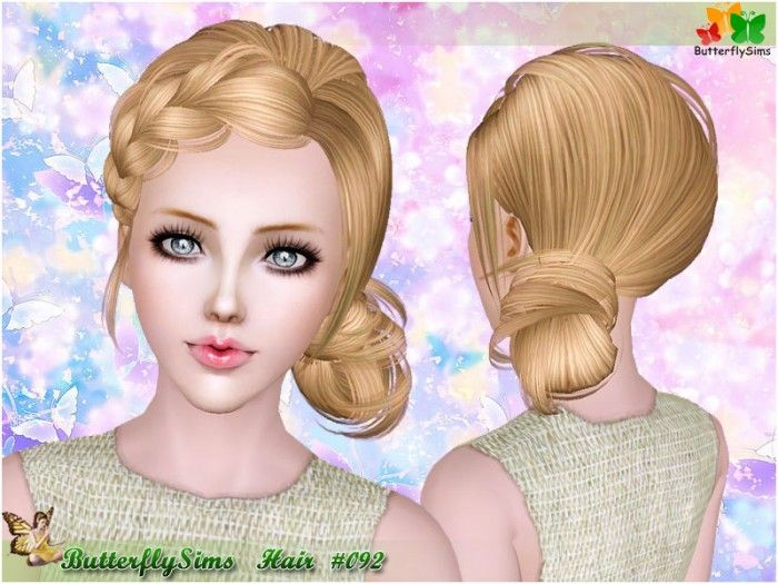 Pleasing 1000 Images About The Sims On Pinterest Top Bun Children Hair Short Hairstyles For Black Women Fulllsitofus