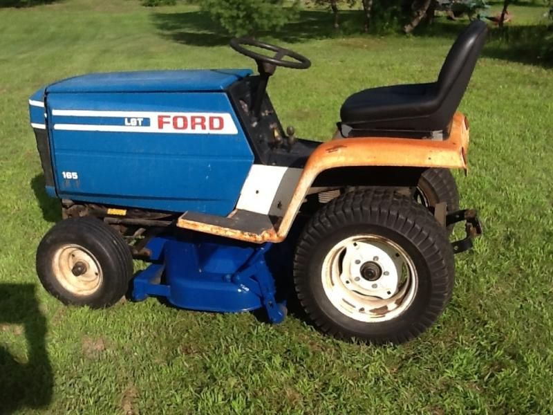 FORD LAWN TRACTOR OPERATORS | Repainted My Ford/jacobsen 42 ... Jacobsen Wiring Diagram on