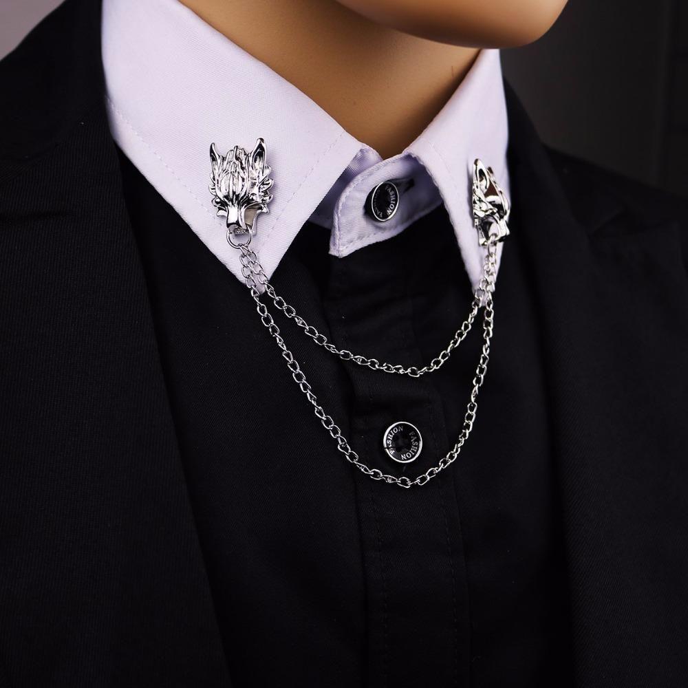 cefd2081fe Vintage Wolf Head Lapel Pin for Men in 2019 | Prom | Brooch men ...