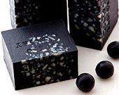 Japanese BLACK KIMONO Soap with Shea Butter Vegan