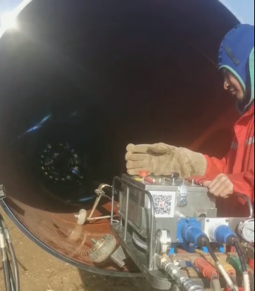 Pin On Pipeline Automatic Welding System