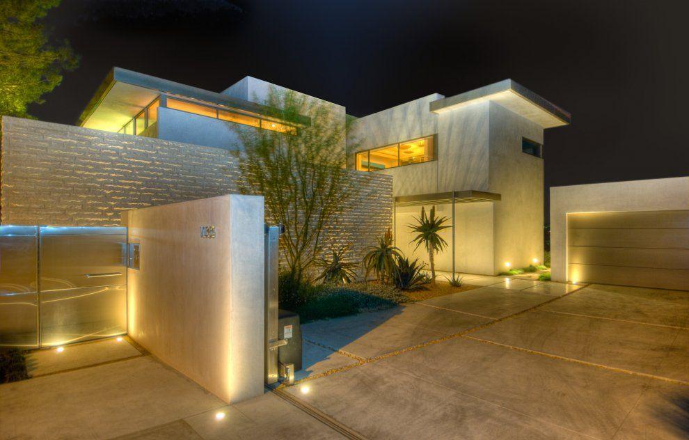 Ispirazione d 39 acciaio case moderne case e case da sogno for Esterni case design