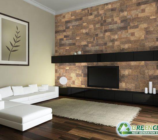 Corkboard Walls Cork Wall Tiles Wall Tiles Living Room Wall