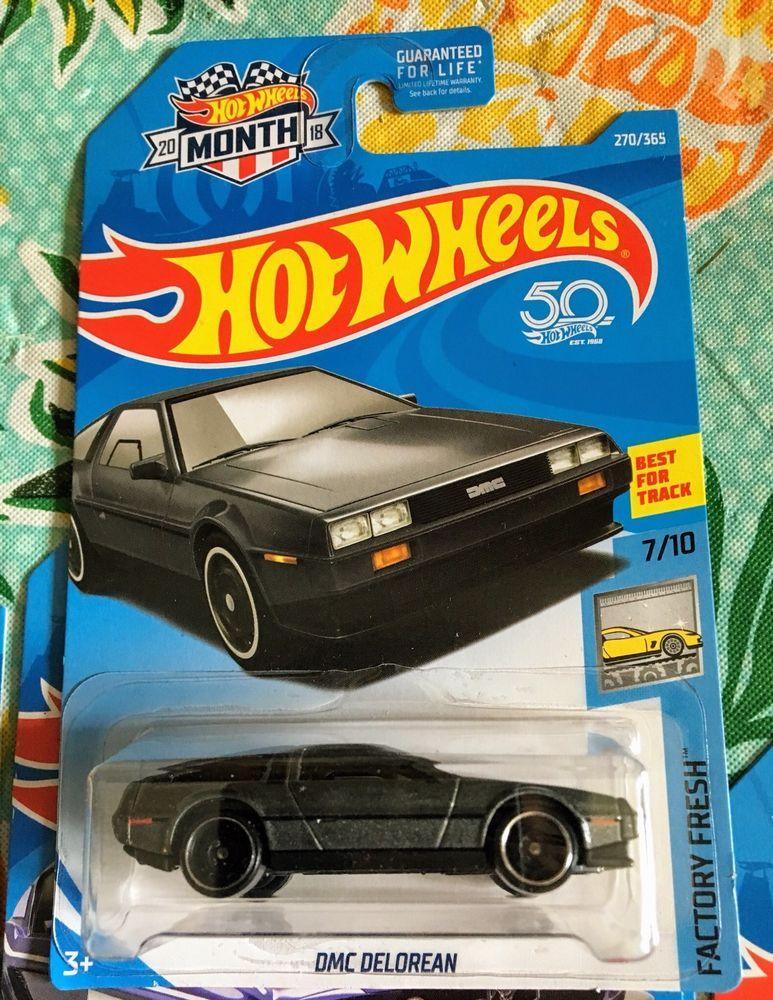 Hot Wheels 2018 270//365 DMC DeLorean NEW ON CARD