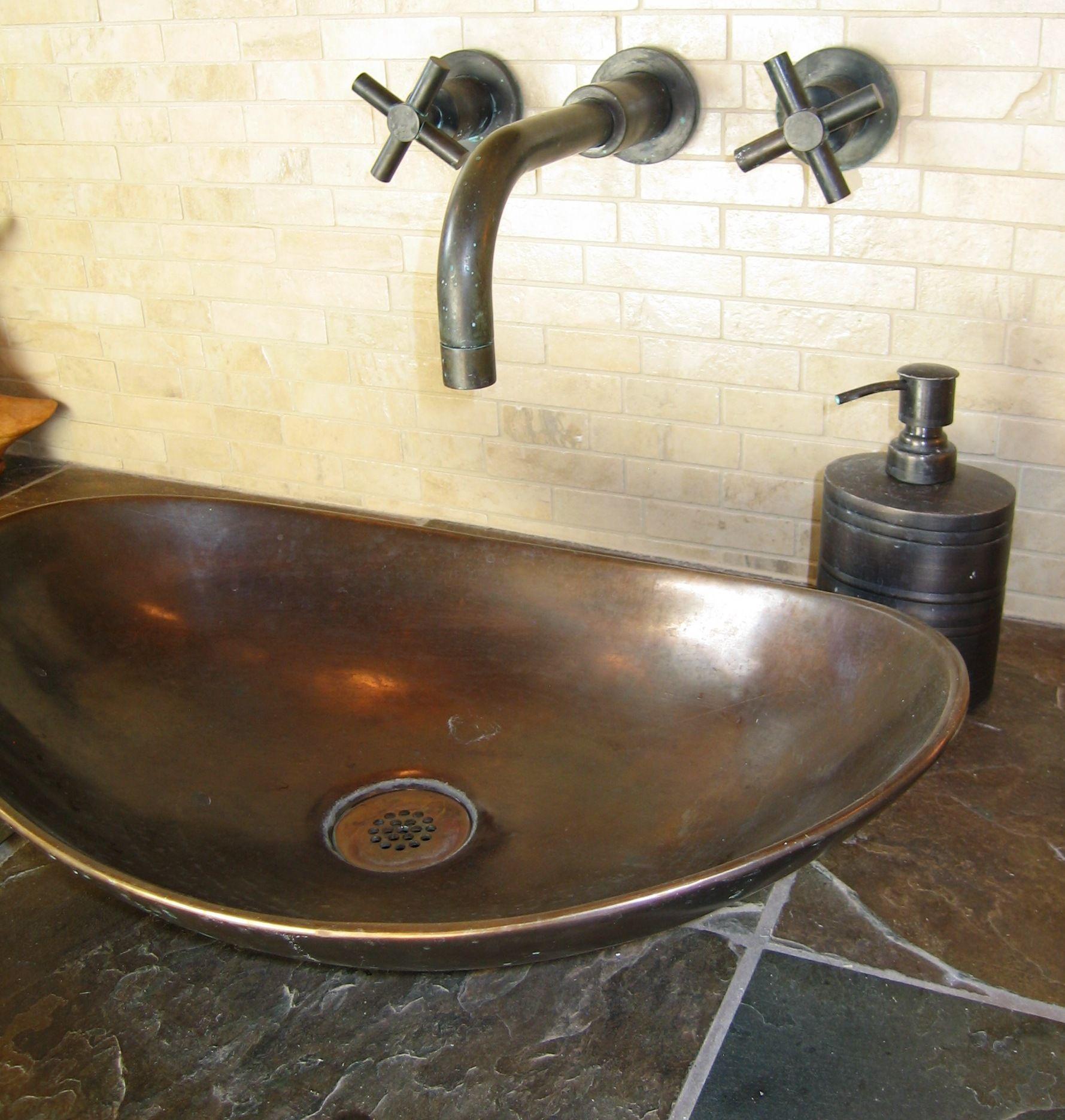 Bronze sink