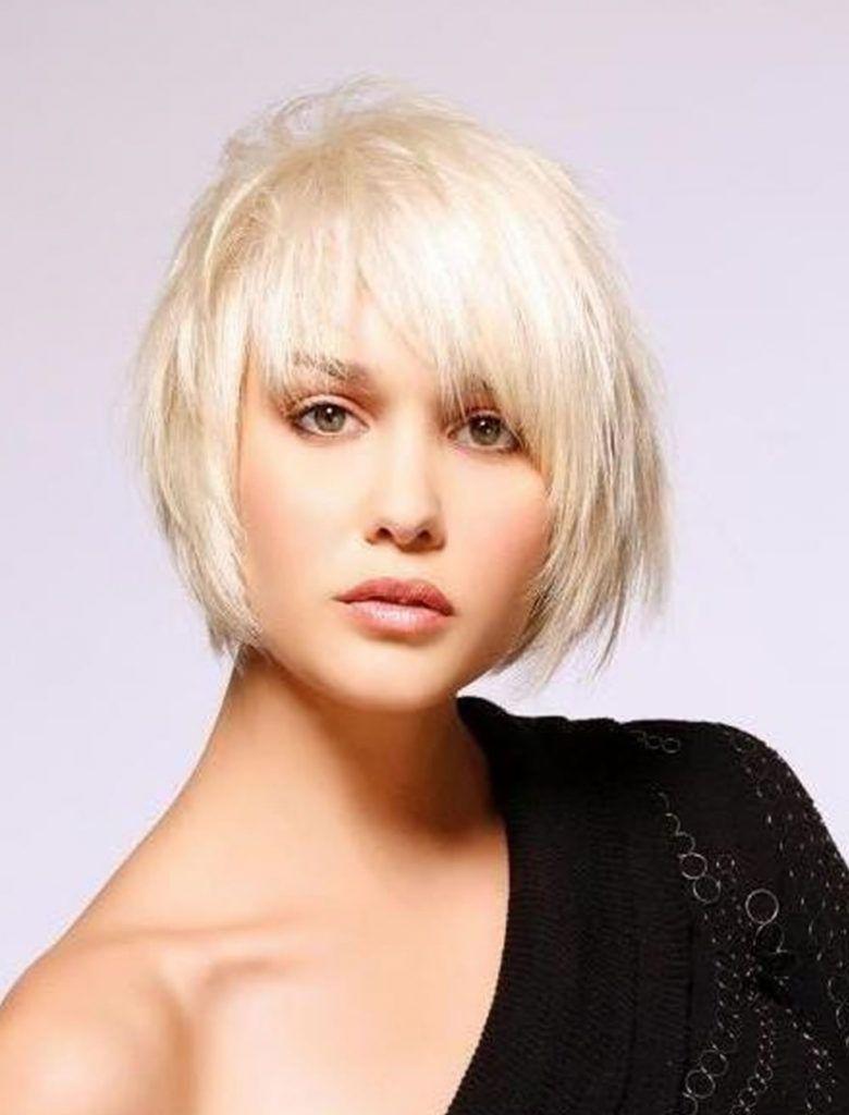 Blonde kurzhaarfrisuren feines haar